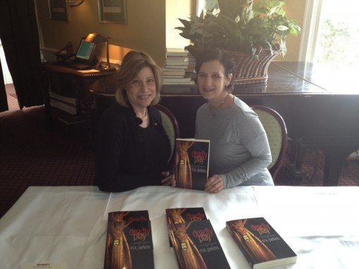 M.K. Perkins author luncheon for Deadly Play